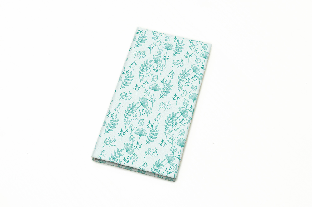 Size : 88 x 170 mm | Material : Fabric + Paper