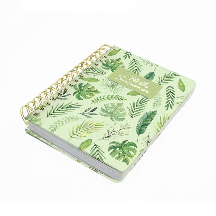 Hard Cover Wired Notebook 01