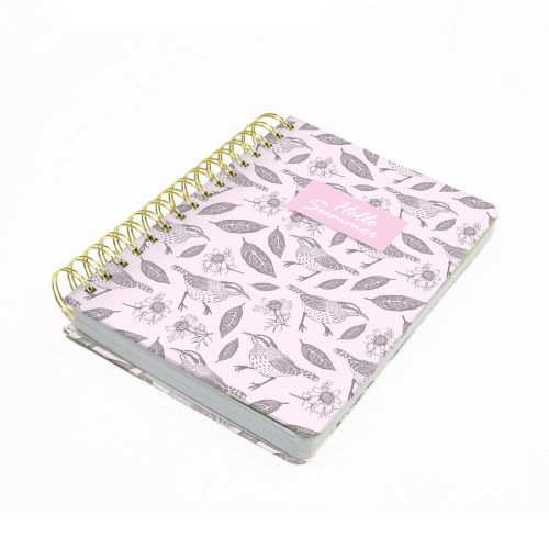 Hard Cover Wired Notebook 02