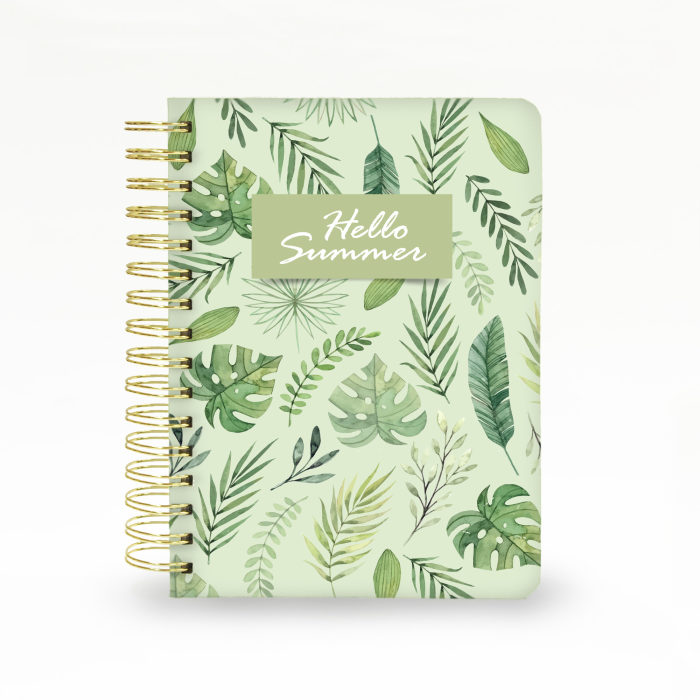 Hard Cover Wired Notebook 03