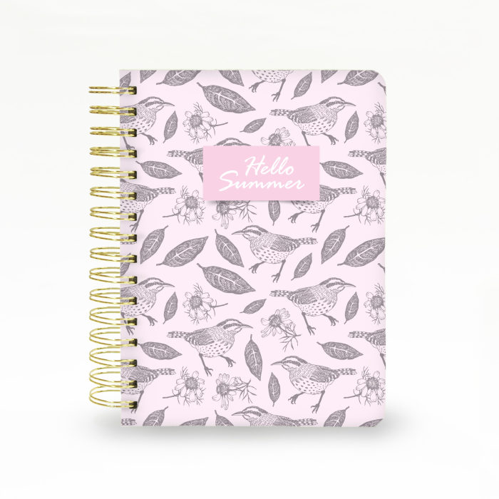 Hard Cover Wired Notebook 04