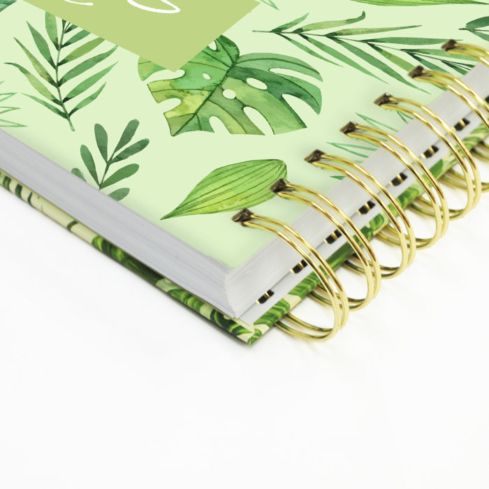 Hard Cover Wired Notebook 13